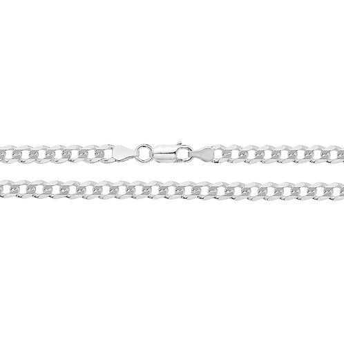 Sterling Silver Curb Chain, TJG1001