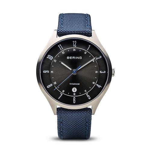 Mens Bering Stainless Steel Watch 11739-873