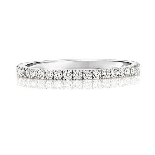 Diamond Platinum Eternity Ring, 0.29cts