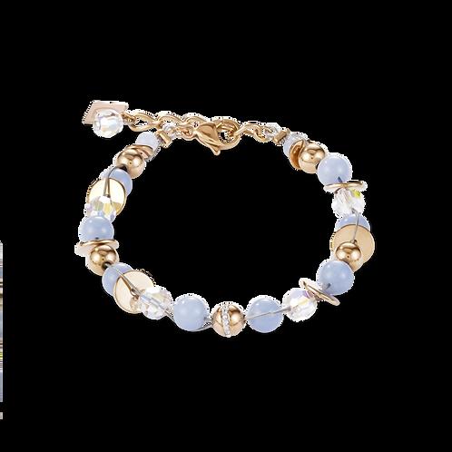 Coeur De Lion Twisted Pearls Angelite Bracelet, 4993300720.