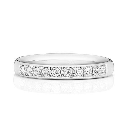 Diamond Platinum Eternity Ring, 0.22cts