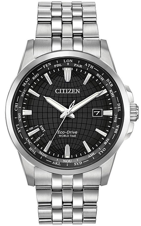 Citizen Mens World Time Perpetual Watch, BX1000-57E.