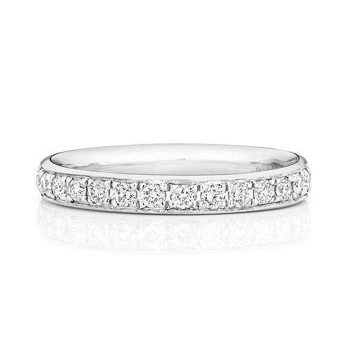 Diamond Platinum Eternity Ring, 0.32cts