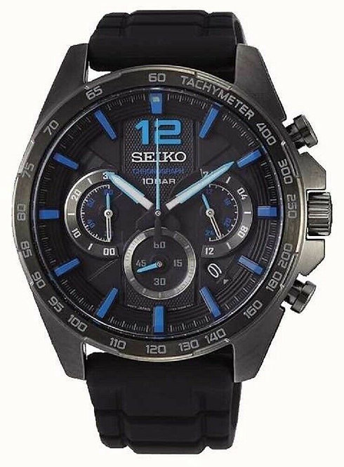 Seiko Mens Quartz Chronograph Watch Ref. SSB353P1