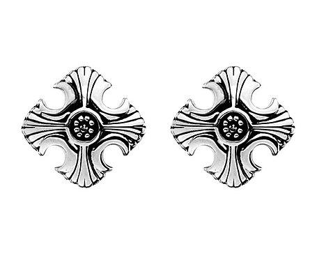 White Ice Sterling Silver Diamond Earrings DE396