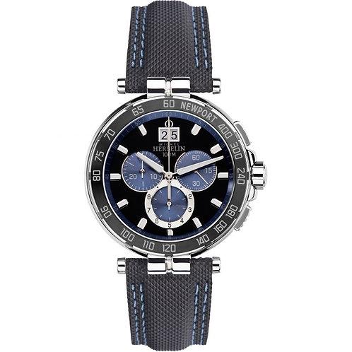 Michel Herbelin Mens Newport Watch, 36656/AN65.