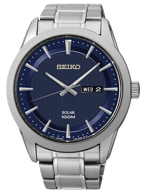 Seiko Mens Solar Watch Ref. SNE361P1