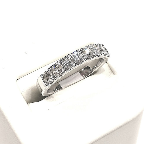 Diamond Eternity Ring 1.00cts, 14ct White Gold