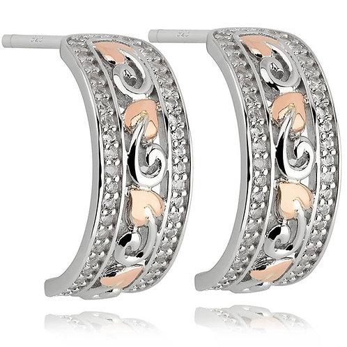 Clogau Tree Of Life Earrings, 3STLBWE.