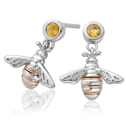 Clogau Honey Bee Earrings, 3SHNBDE.