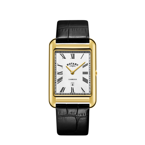 Rotary Rectangular Cambridge Watch, GS05283/01.