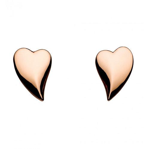 Kit Heath Lust Heart Studs 40FTRG