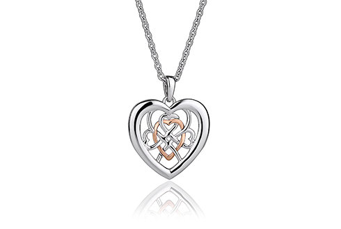 Clogau Welsh Royalty Pendant, 3SWLRP.