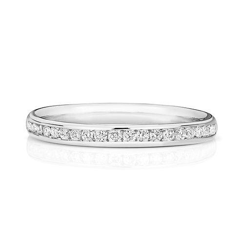 Diamond Platinum Full Eternity Ring, 0.44cts