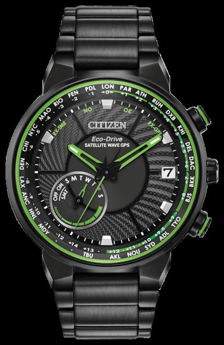 Citizen Mens Satellite Wave GPS Watch, CC3035-50E.
