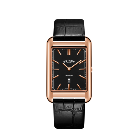 Rotary Rose Gold Plated Watch, GS05284/04.