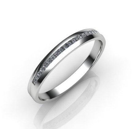 Diamond Eternity Ring 0.20cts, 18ct White Gold.