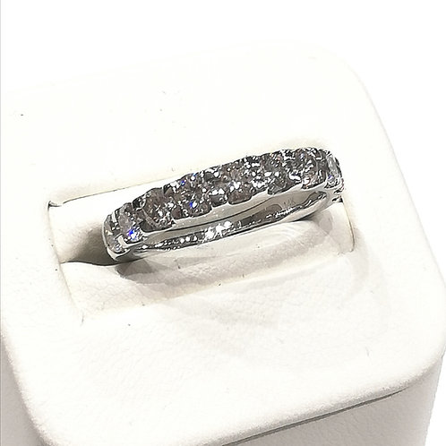 Diamond Eternity Ring 1.50cts, 14ct White Gold