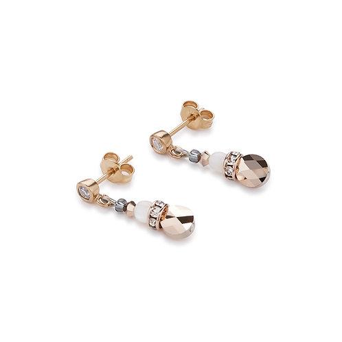 Coeur De Lion Earrings mother of pearl & Swarovski® Crystals, 4914211019.