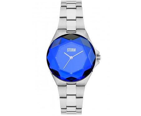Ladies Storm Watch, Crystana Lazer Blue.