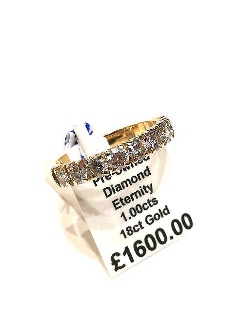 Diamond Eternity Ring, 1.00cts