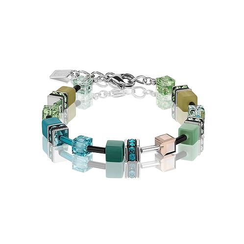 Coeur De Lion Bracelet Multicolour Green-Petrol, 2838300537.