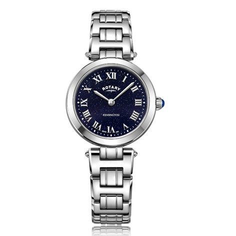 Rotary Kensington Midnight Sky Steel Quartz Watch LB05190/67.