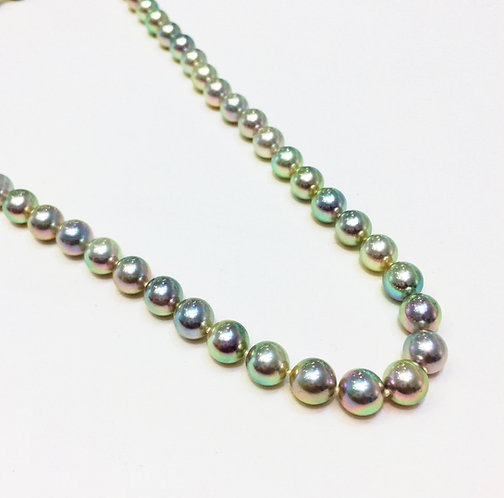 Cultured Pearls 7.5mm, 18 inches.