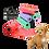Thumbnail: Dog Poo Bags Dispenser Kit Biodegradable Dog Waste Bags Bone Shaped