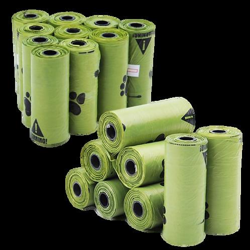 Bio-Degradable Dog Poop Bags Dispenser 3Pack / 8Pack