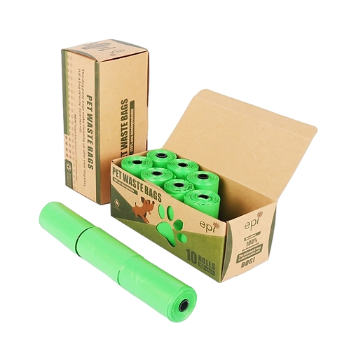10roll/150pcs Dog Poop Bags Biodegradable Eco Friendly Garbage Bag FREE SHIPPING