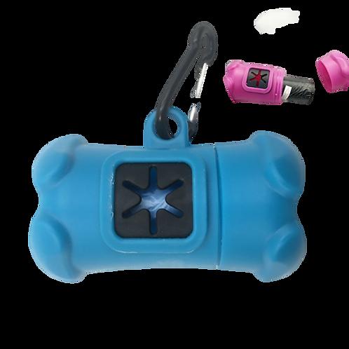 New Bone Shape Dog Poo Bag Dispenser with a Bag roll -15 Bags