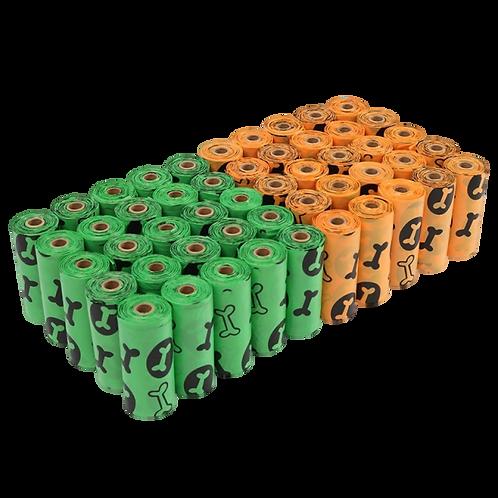 900 Counts Dogs Poop Bag Biodegradable - Pet Poop Bags