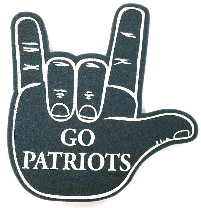 Patriots Foam Hand