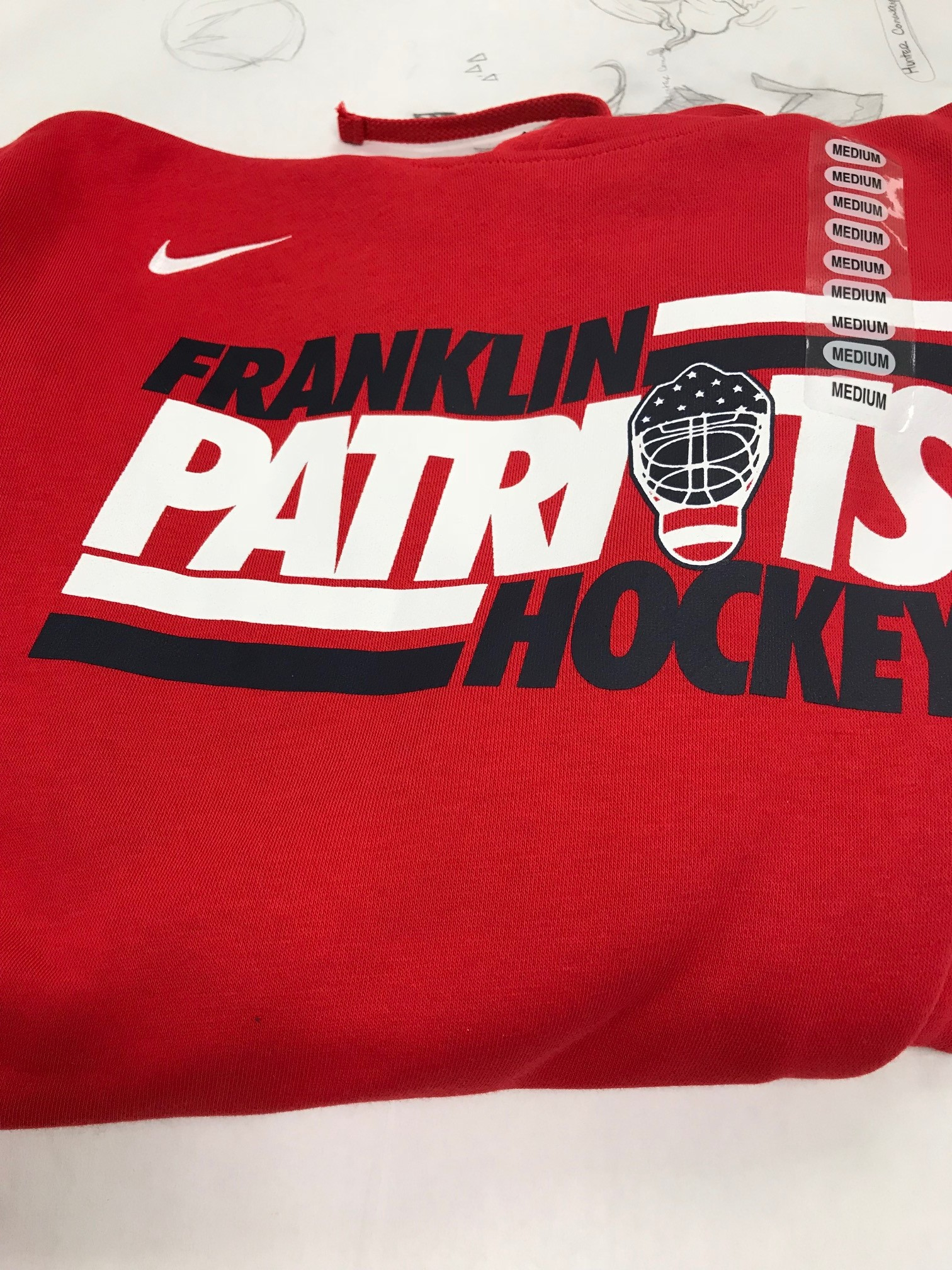 FHS Nike Hockey Hoodie