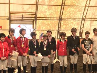 Открытые соревнования Динского района по конному спорту