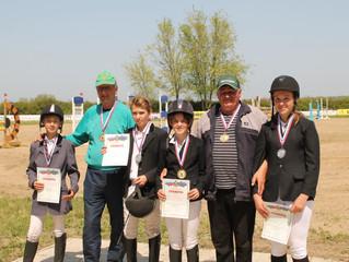 Наши спортсмены-абсолютные чемпионы Краснодарского края по конкуру