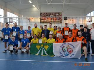 Первенство Крымского района по волейболу среди спортсменов с нарушением слуха