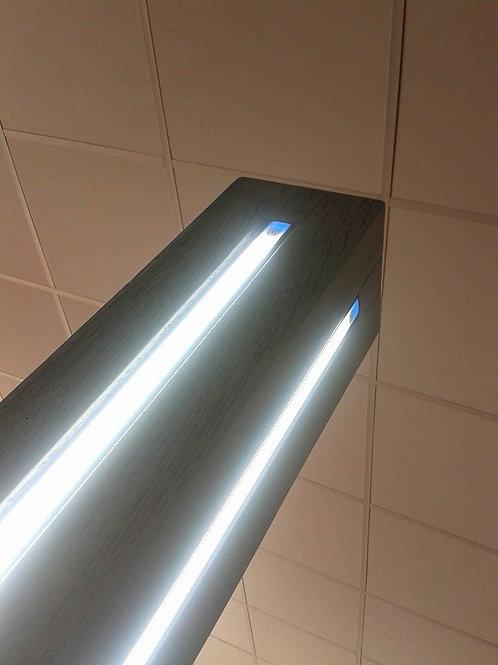 LAMPADA DA TERRA A LED - LEGNO MASSELLO
