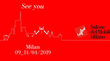 SAVE THE DATE: 9-14 APRILE 2019 SALONE DEL MOBILE. MILANO.