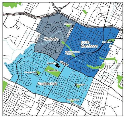 South Austin neighborhoods