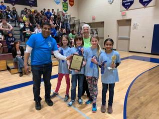 Pioneer School Cleans Up at Weekend Awards Ceremonies