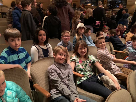 Students at the Symphony