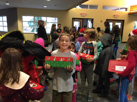 Donating to Samaritan's Purse for the holidays