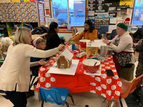 Annual Kindergarten decorating