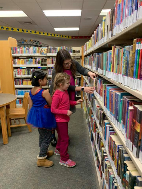 Post Falls Library Trip