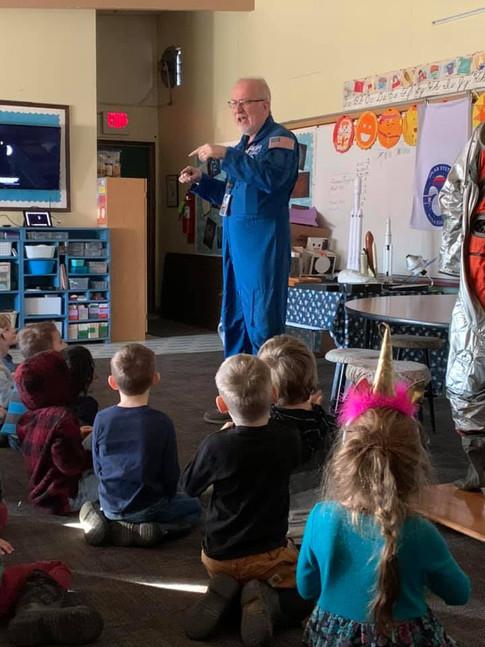 Astronaut Presentation