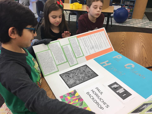 Presentations by the 4th & 5th graders