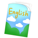 pngtree-blue-green-letters-english-book-