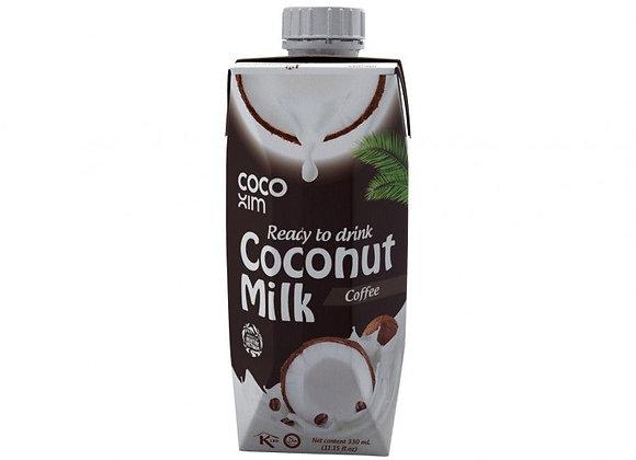 """חלב קוקוס בטעם קפה 330 מ""""ל"""